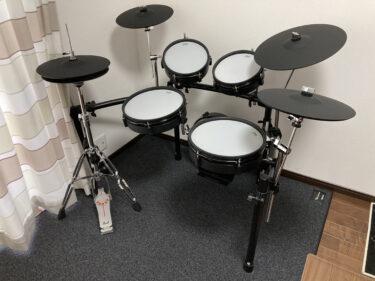 電子ドラムと一緒に買うものおすすめ5選!(うちはATVのEXS-5)